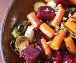 Roasted Medley of Winter Vegetables